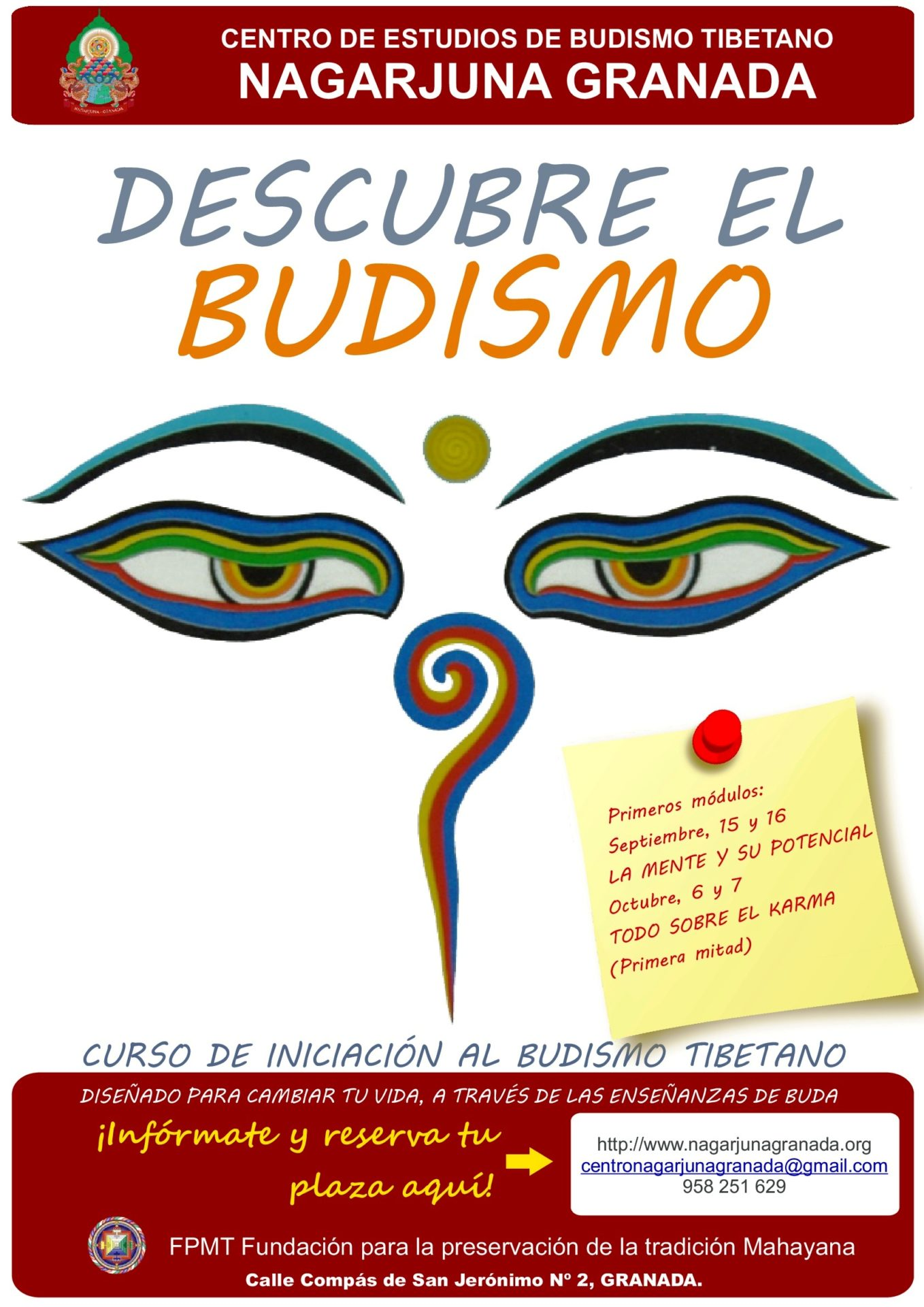 DESCUBRE EL BUDISMO sept 2018