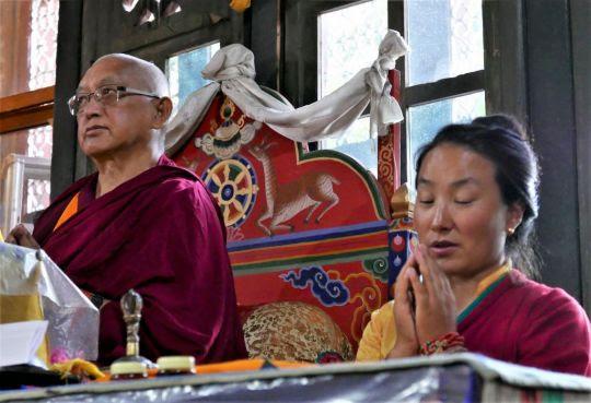 Práctica de Lama Chöpa (Tsog)