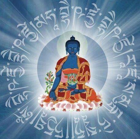 Práctica del Buda de la Medicina y Alabanzas a las 21 Taras