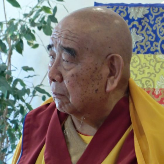 Gueshe Lamsang-Oración de Lam Rim