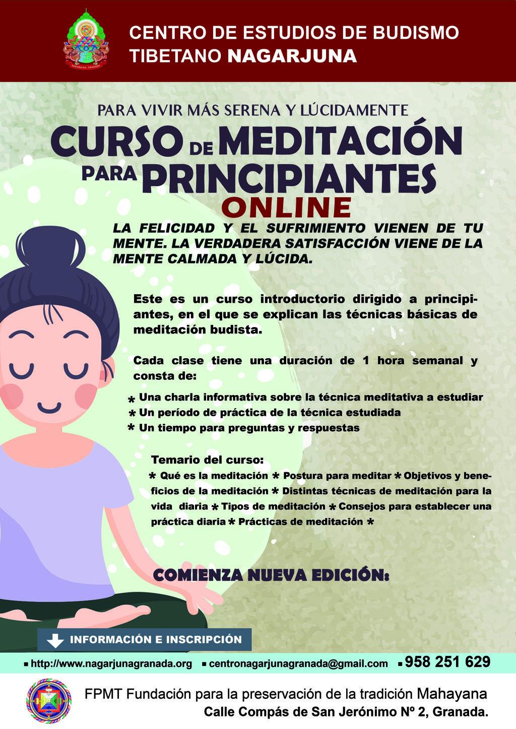 Curso meditación para principiantes