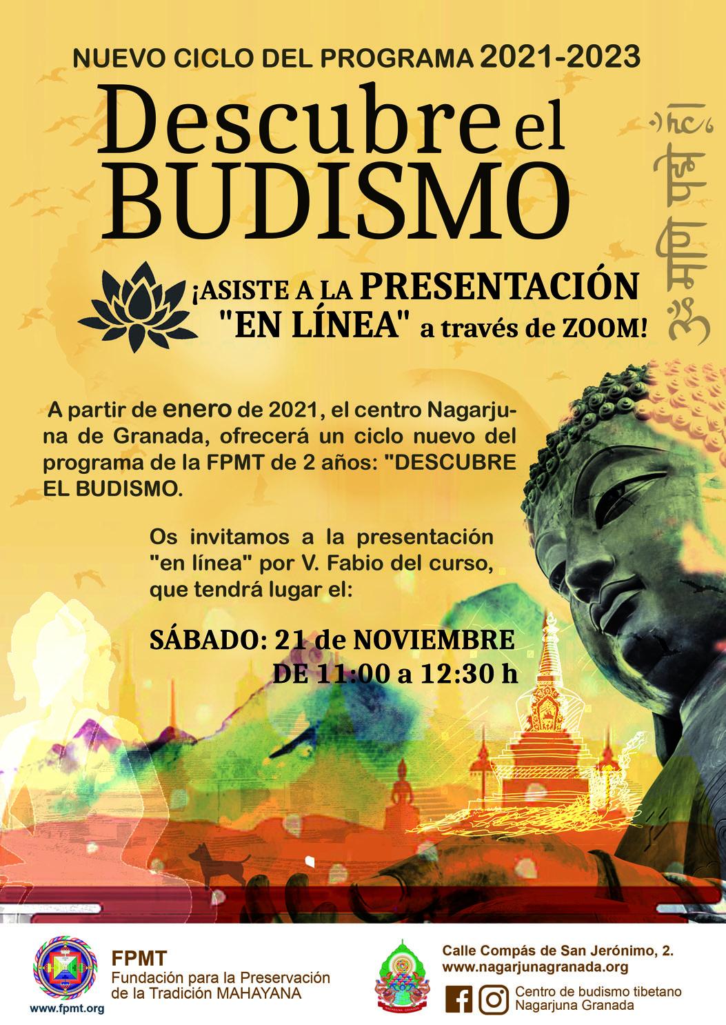 Descubre el Budismo. Nagarjuna Granada