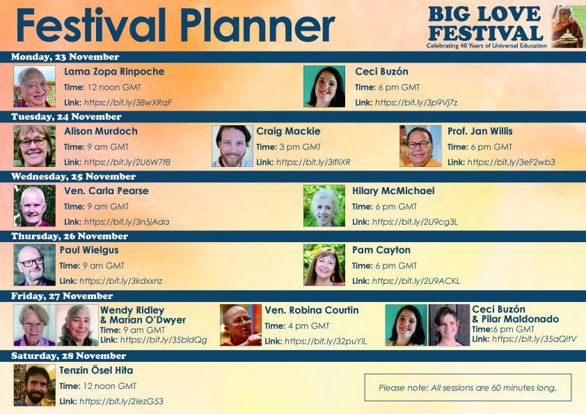 Big Love Festival. 40 años de Educación Universal